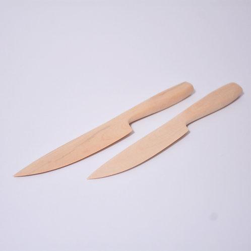 BOXWOOD Handmade Knive