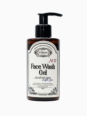 Face Wash Gel / All Skin Types / Sulfate-free N°47