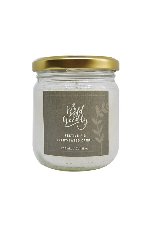 FESTIVE Fig Plant-Based Candle