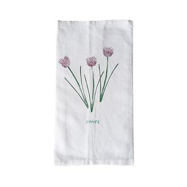 CHIVES Tea Towel