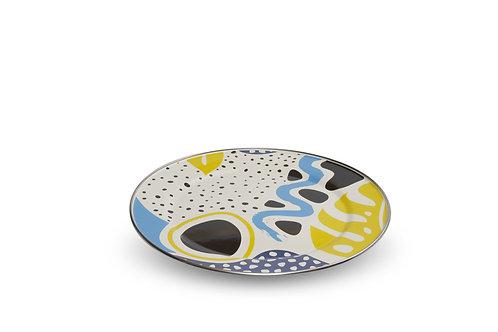 FLASHBACK Flat Serving Plate