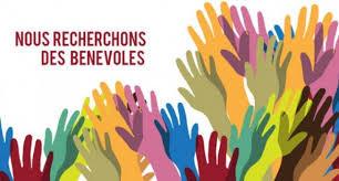 RECHERCHE DE BÉNÉVOLES.