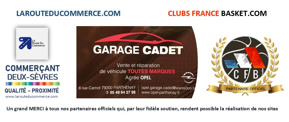 GARAGE CADET - PARTHENAY