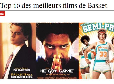 Le top 10 des meilleurs films de basket.