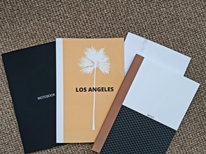 New minimalist notebook designs now available in our Amazon store