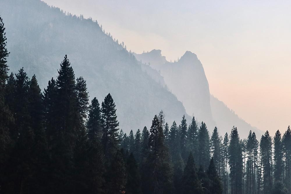 Mountain Range in Vancouver British Columbia