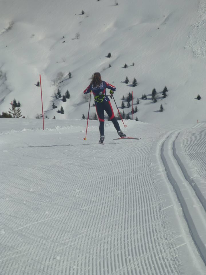 Beth Cross-Country Ski-ing