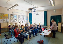 Sectional Rehearsal with Dr Bob Childs