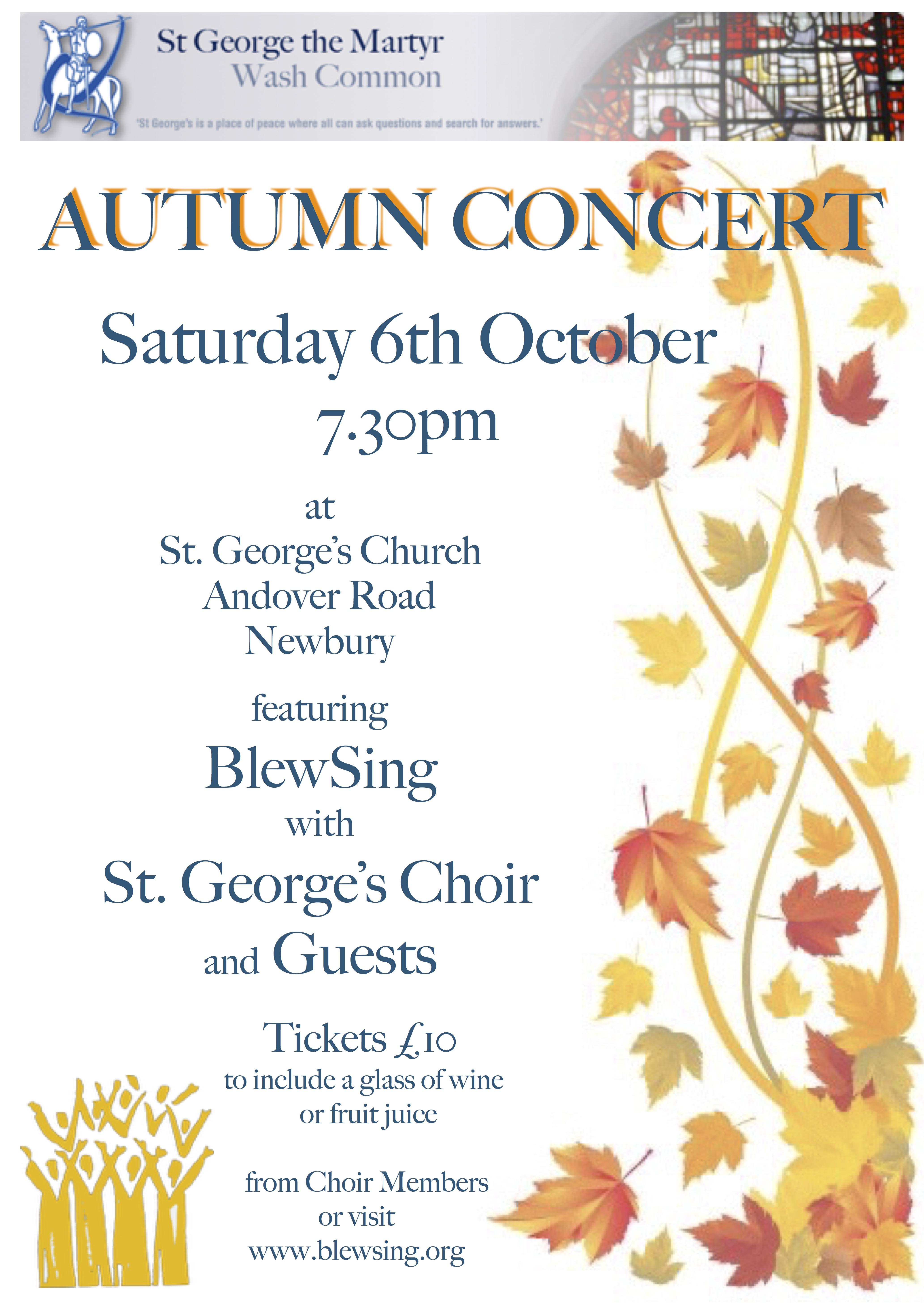 Poster - Autumn Concert 2018