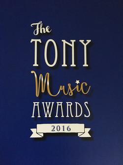 Tony Music Awards Programme