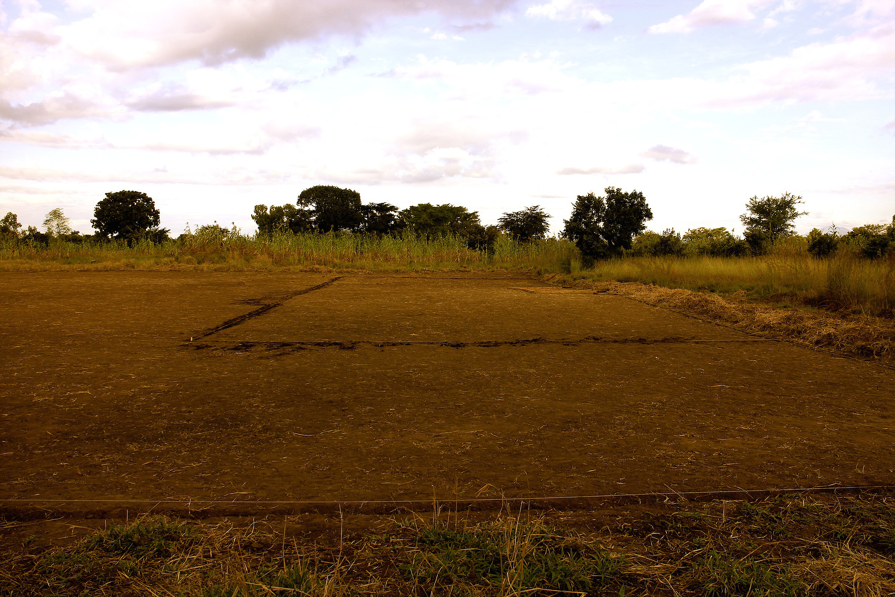 Mlambe School - Football Pitch