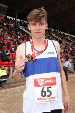 Ben - English Schools' Champion 400m