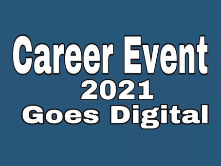Career Event 2021 Goes Digital