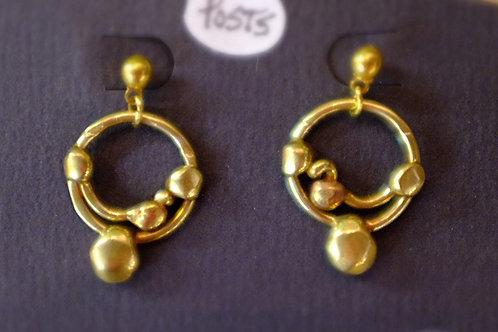 Bronze Earrings (Posts)