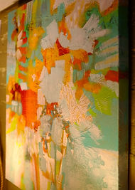 abstract painting kathleen mooney