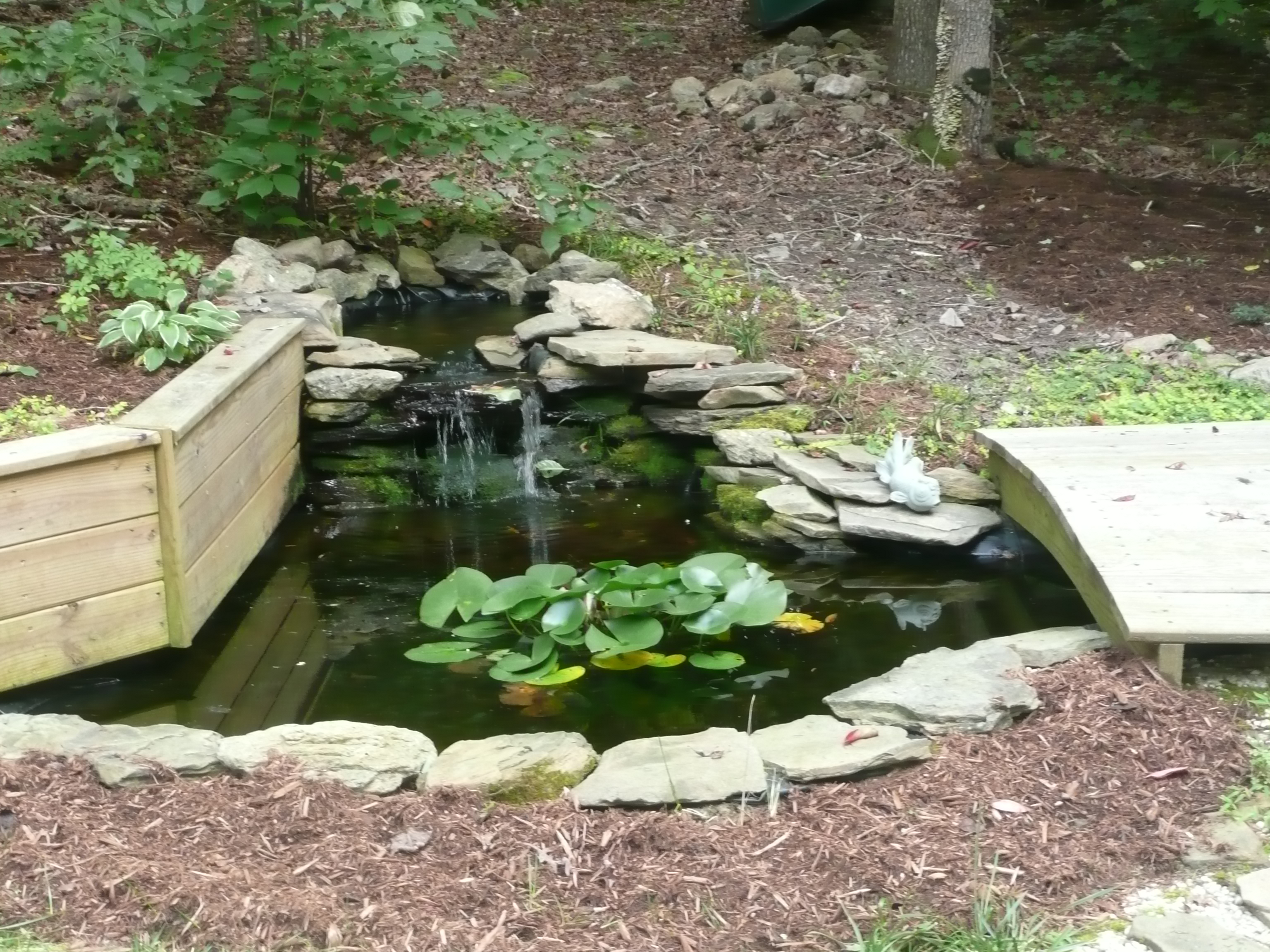 Private water features