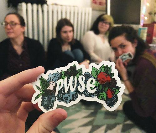 PWSE Sticker