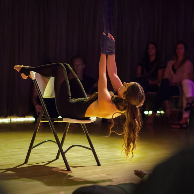 Chair Dance and Hammock Choreography for Airedanse Collective