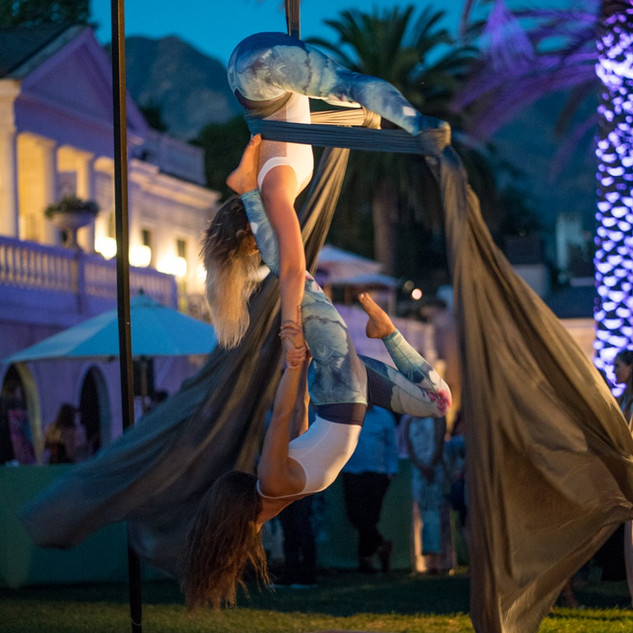 Hand to Hand Aerial for Dream Foundation's Annual Fundraiser