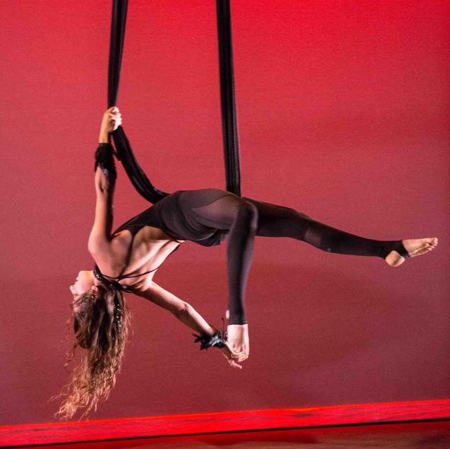 Hammock Choreography at BASSH in Santa Barbara
