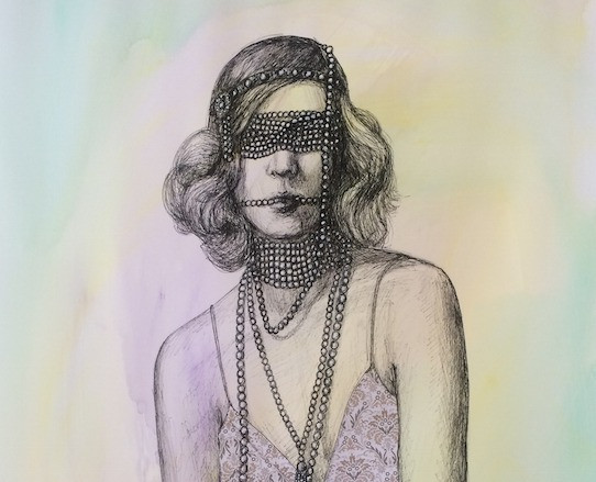 Dripping in Pearls by Leah Mariani 2015