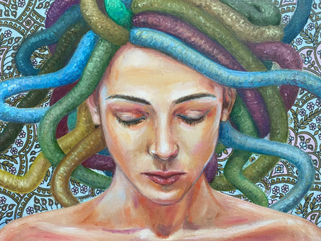 Off with her head!: How Medusa lost her head and found her voice
