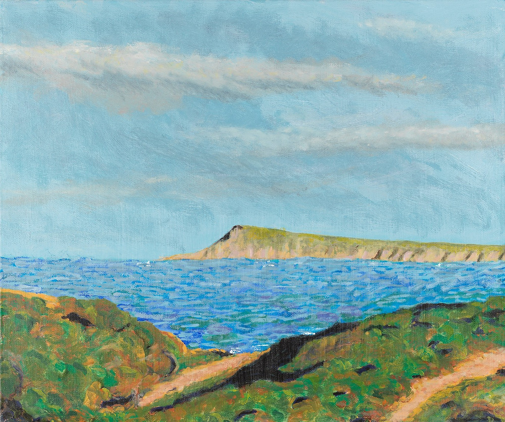 Bryce Aston landscape painting