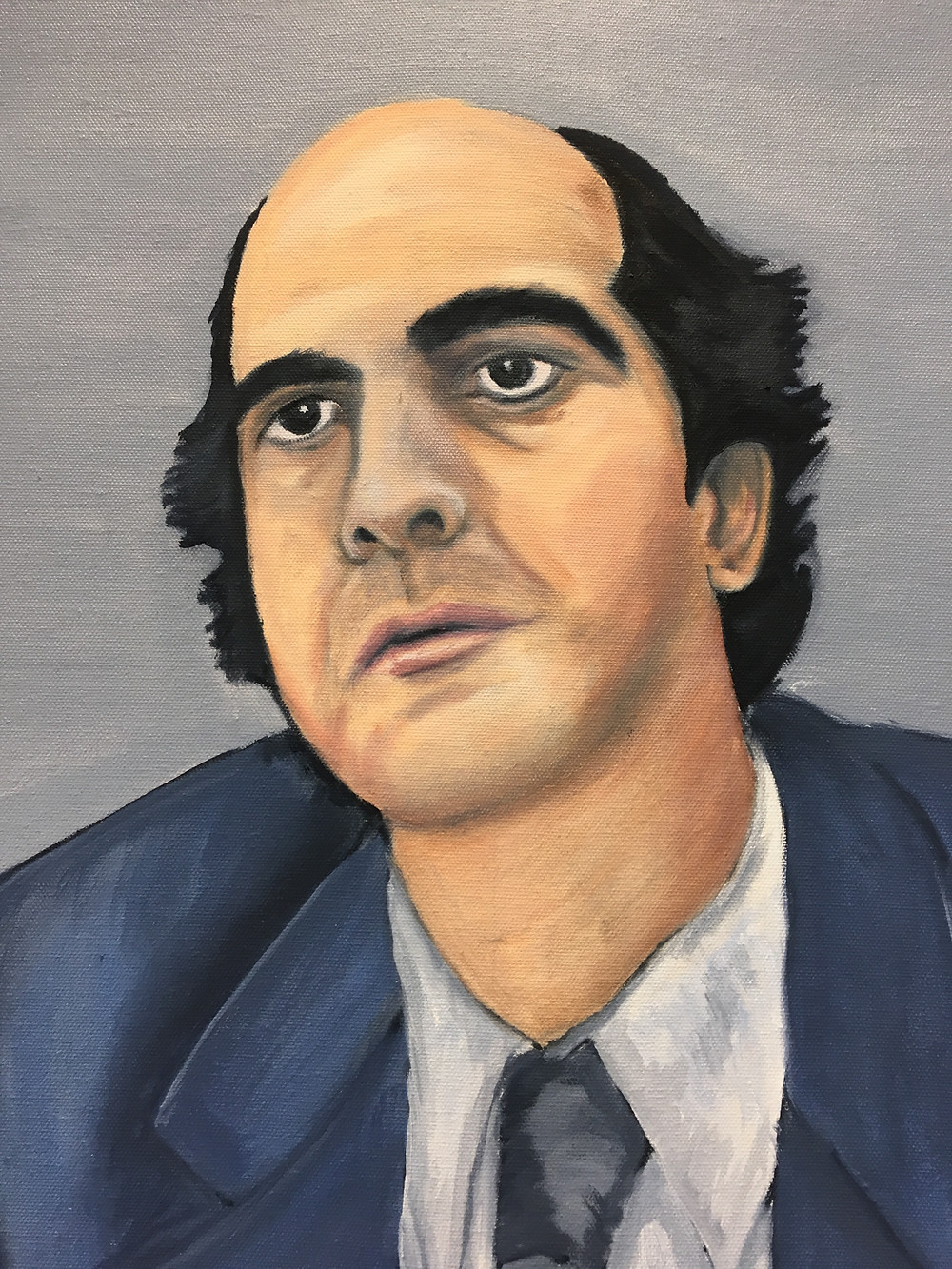 Jeremy Boland portait painting