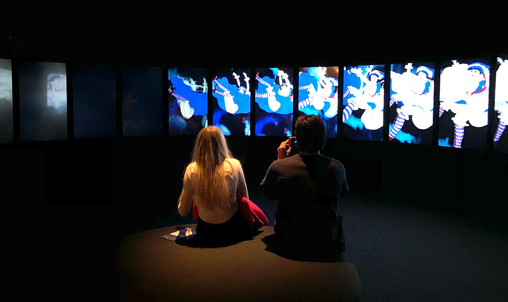 Alice's Evidence, final room at ACMI's wonderland exhibition