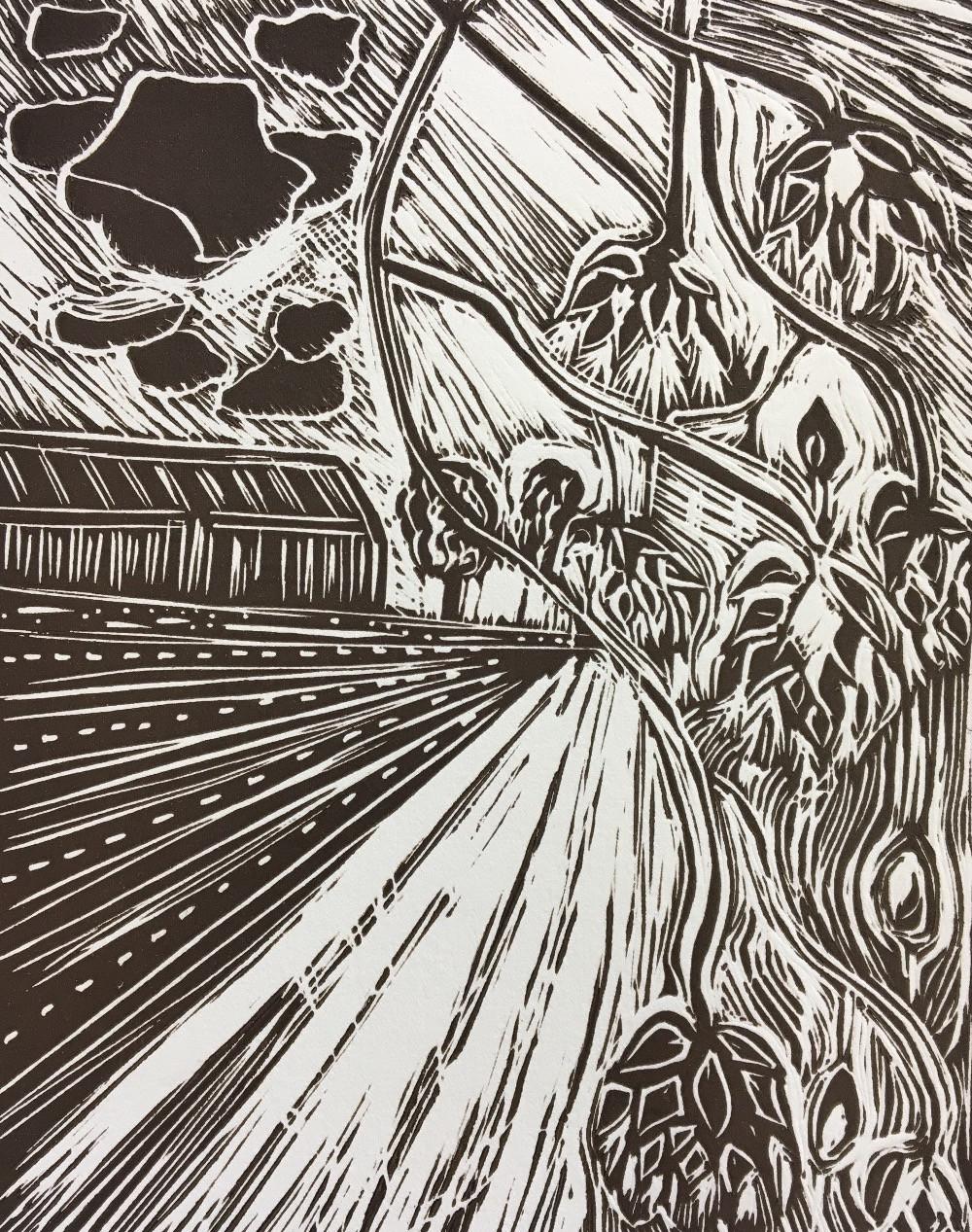 Vickie Lock print