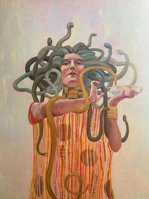 Medusa After Klimt