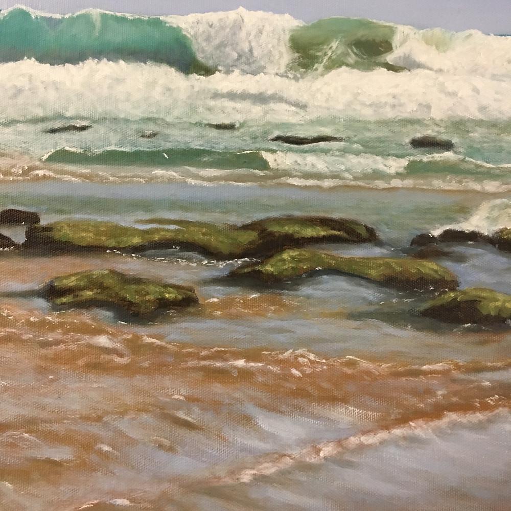 Hilary Watson wave painting