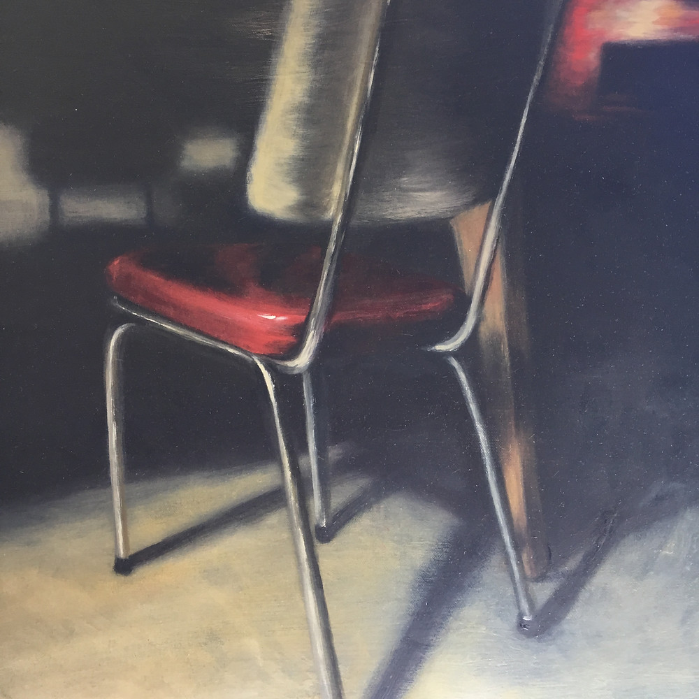 Nareeda Lewers painting