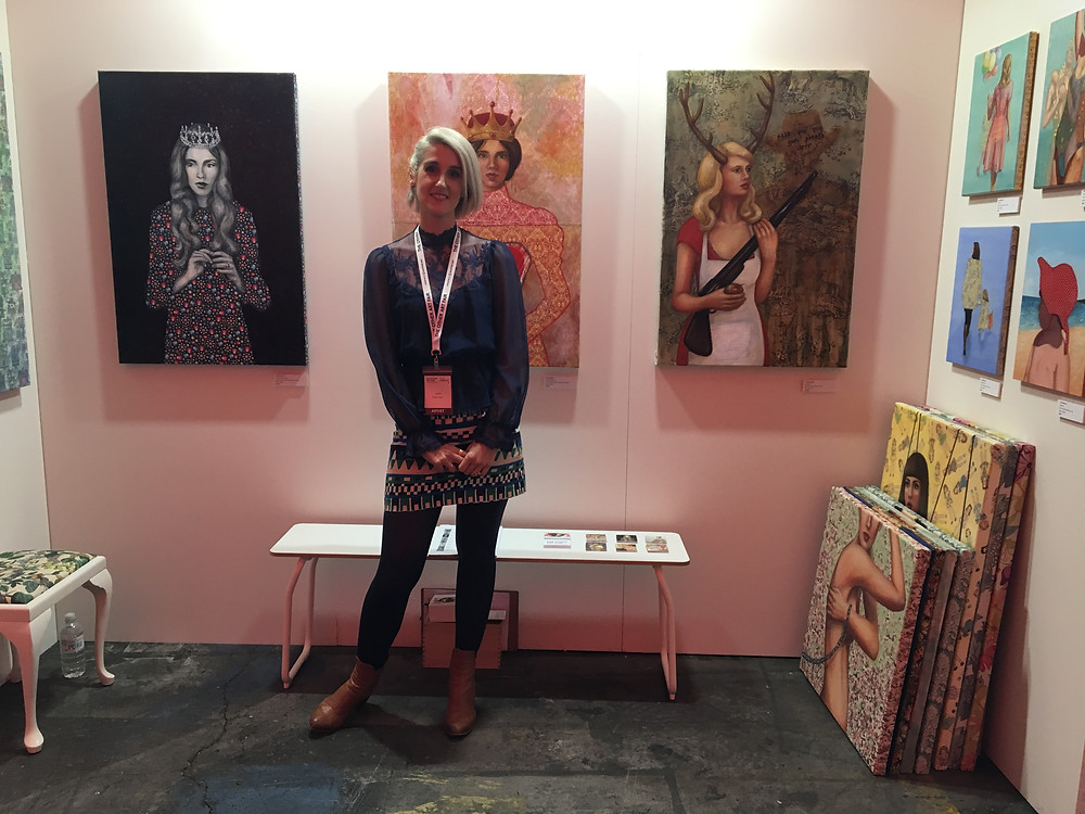 Leah Mariani at the Other Art Fair