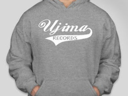 Ujima Records Hoodie Classic [GREY]