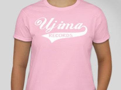 WOMENS Ujima Records T [PINK]
