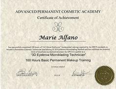 3D Eyebrow Microblading Training