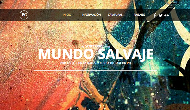 Portafolio website templates – El artista