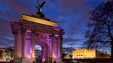 Private Dinner Inside the Wellington Arch