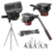 manfrotto 502 video head tripod kit.png
