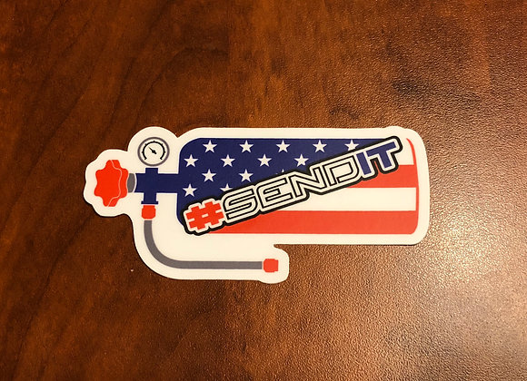 #SENDIT Sticker