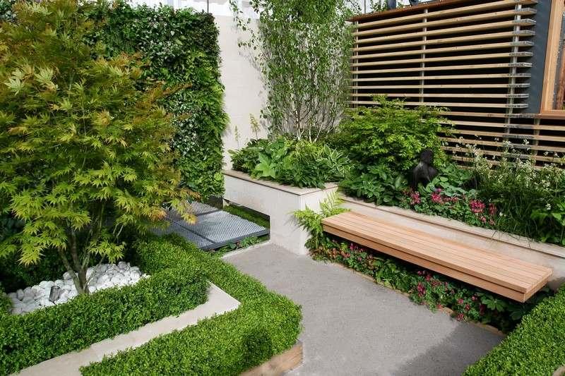 aménagement de petit jardin