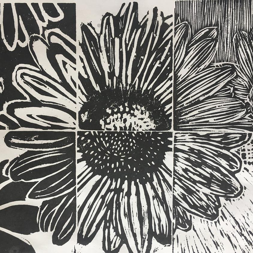 Collaborative Woodblock Printmaking