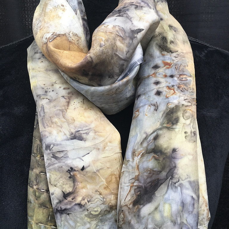 Eco-Print Scarf Making
