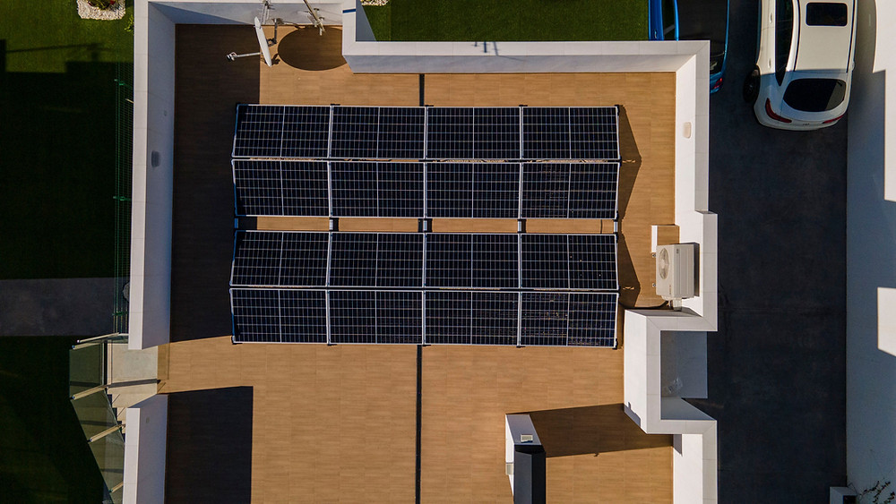 Instalacion en Catral de placas solares