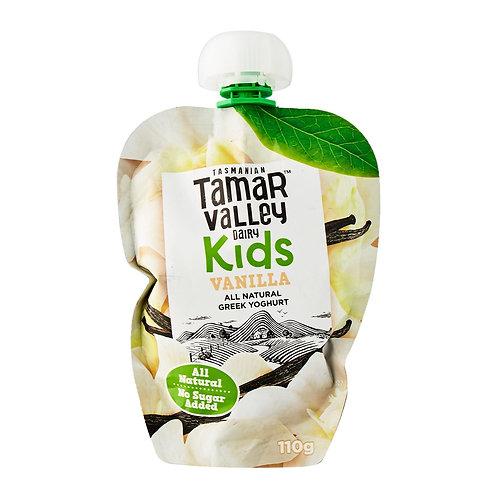 Tamar Valley All Natural Greek Vanilla Yoghurt For Kids, No Sugar Added