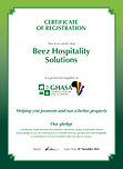 GHASA Certificate supplier_Beez Hospital