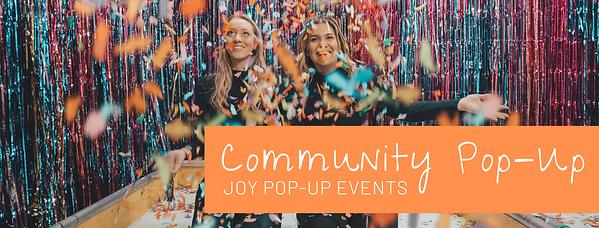 Community Pop-Up