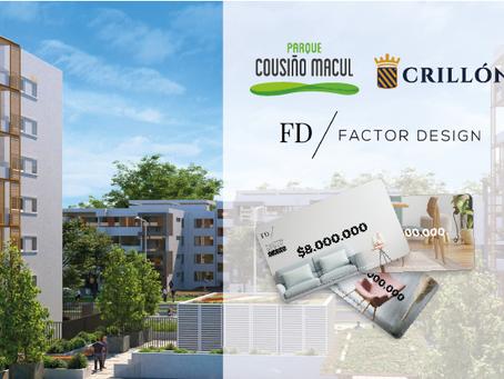 Parque Cousiño Macul incorpora Factor Design Card en todos sus proyectos