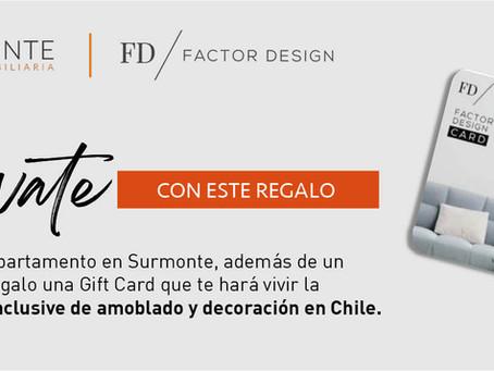 Relanzamiento de campaña entre Surmonte y Factor Design